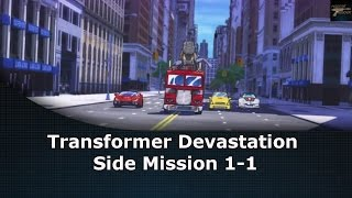 Transformers Devastation Side Mission 1-1