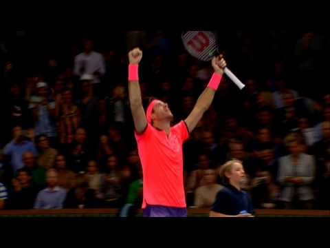 Del Potro Ousts Sock In Stockholm 2016 Final