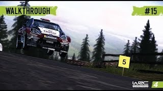 WRC 4 Career Mode - WRC 2 - Part 15 Rally Italy (Day3)