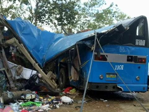 Bilang ng nasawi sa bus accident sa Tanay, Rizal umabot na sa 15