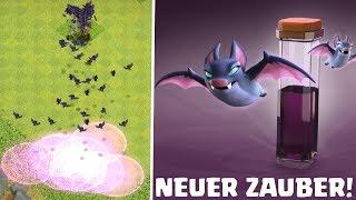 FLEDERMAUS-ZAUBER! ☆ Clash of Clans ☆ DEZEMBER UPDATE ☆ Neuer Zauber