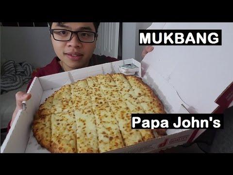 MUKBANG: Papa John