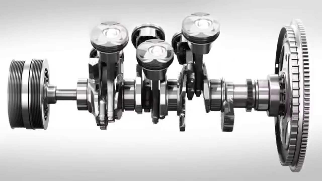 Jaguar Aj126 90 Degree V6 Engine 3d Animation