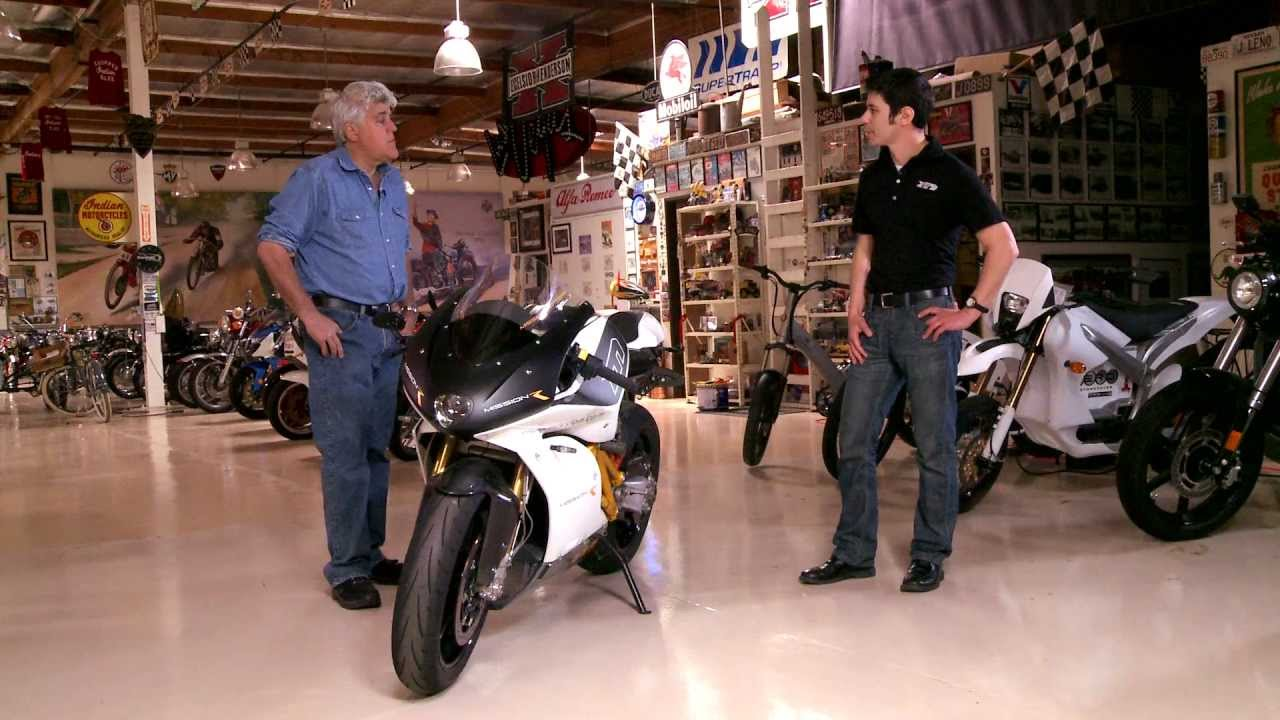 Electric Motorcycle Mission Motors R Jay Leno S Garage You