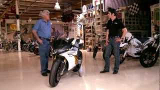 Electric Motorcycle - Mission Motors Mission-R - Jay Leno's Garage