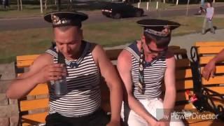 Армейский  прикол)))) пьяный моряк))