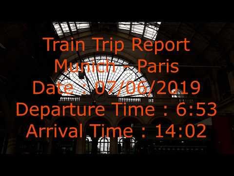 🚅 Train Trip Report | Munich - Paris | TGV 9506