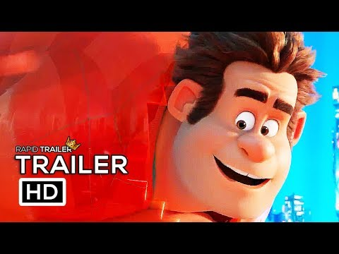 Play WRECK-IT RALPH 2 Official Trailer (2018) Ralph Breaks The Internet, Disney Animated Movie HD