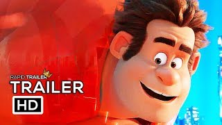 WRECK-IT RALPH 2 Official Trailer (2018) Ralph Breaks The Internet, Disney Animated Movie HD