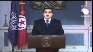"""Ben Ali: """"O que está a acontecer não faz parte da..."""