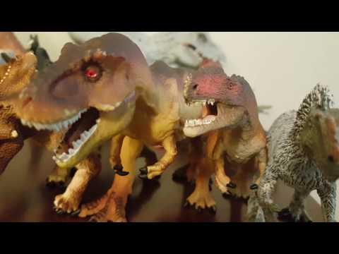 My dinosaur collection 2017