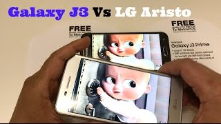 Samsung Galaxy J3 VS LG Aristo - FULL COMPARISON