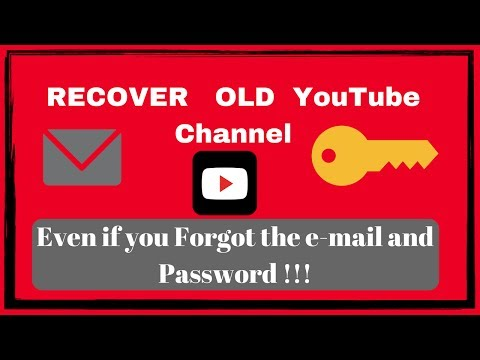 How To Recover Old You Channel Without Email And Word