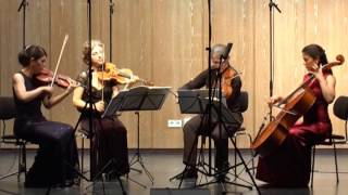 "Hegel Quartett Beethoven String Quartet in E-flat Major, Op.74 ""Harp"" (1/4) Poco Adagio - Allegro"