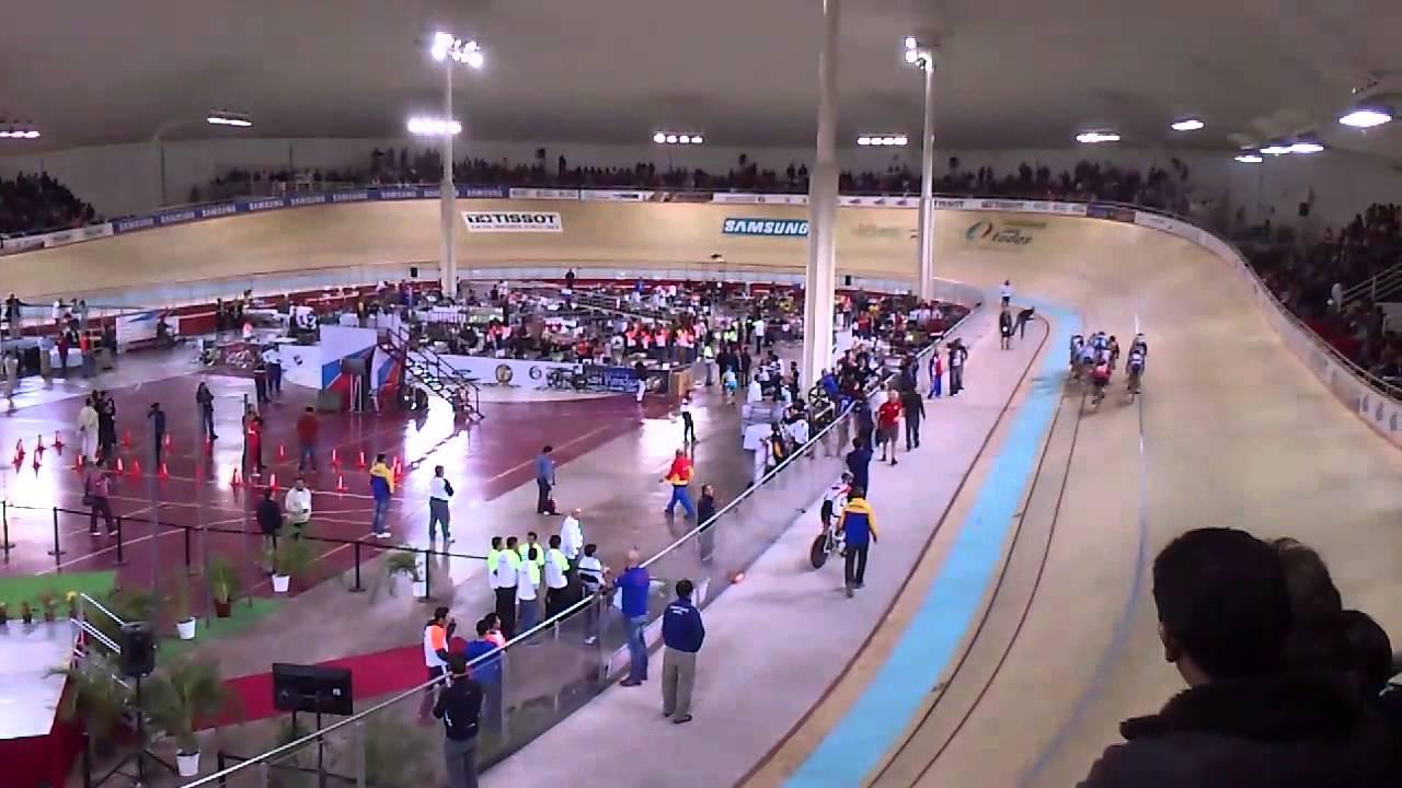 Mundial de ciclismo Velodromo Aguascalientes - YouTube