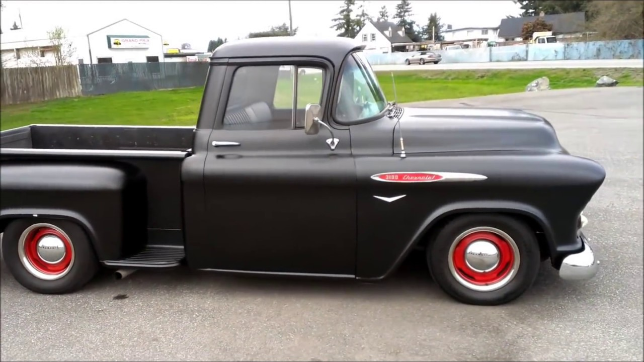 1957 Chevrolet 3100 Youtube 1954 Chevy Truck Air Cleaner
