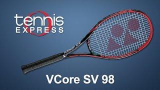 Yonex VCore SV 98 Tennis Racquet Review | Tennis Express
