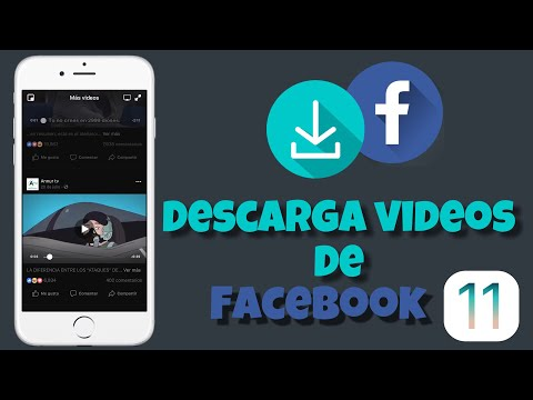 Como descargar videos de Facebook en tu iphone/ipod/ipad ios 11 muy facil iExplora