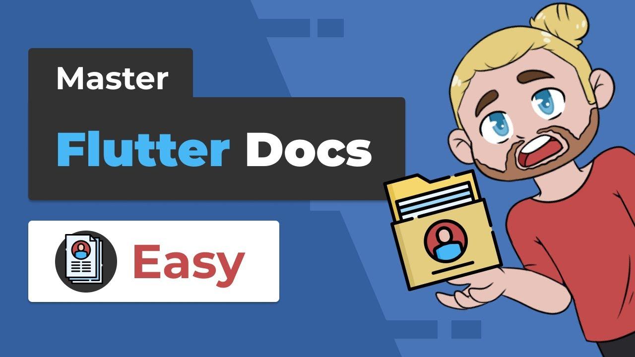 Master Documentation in Flutter