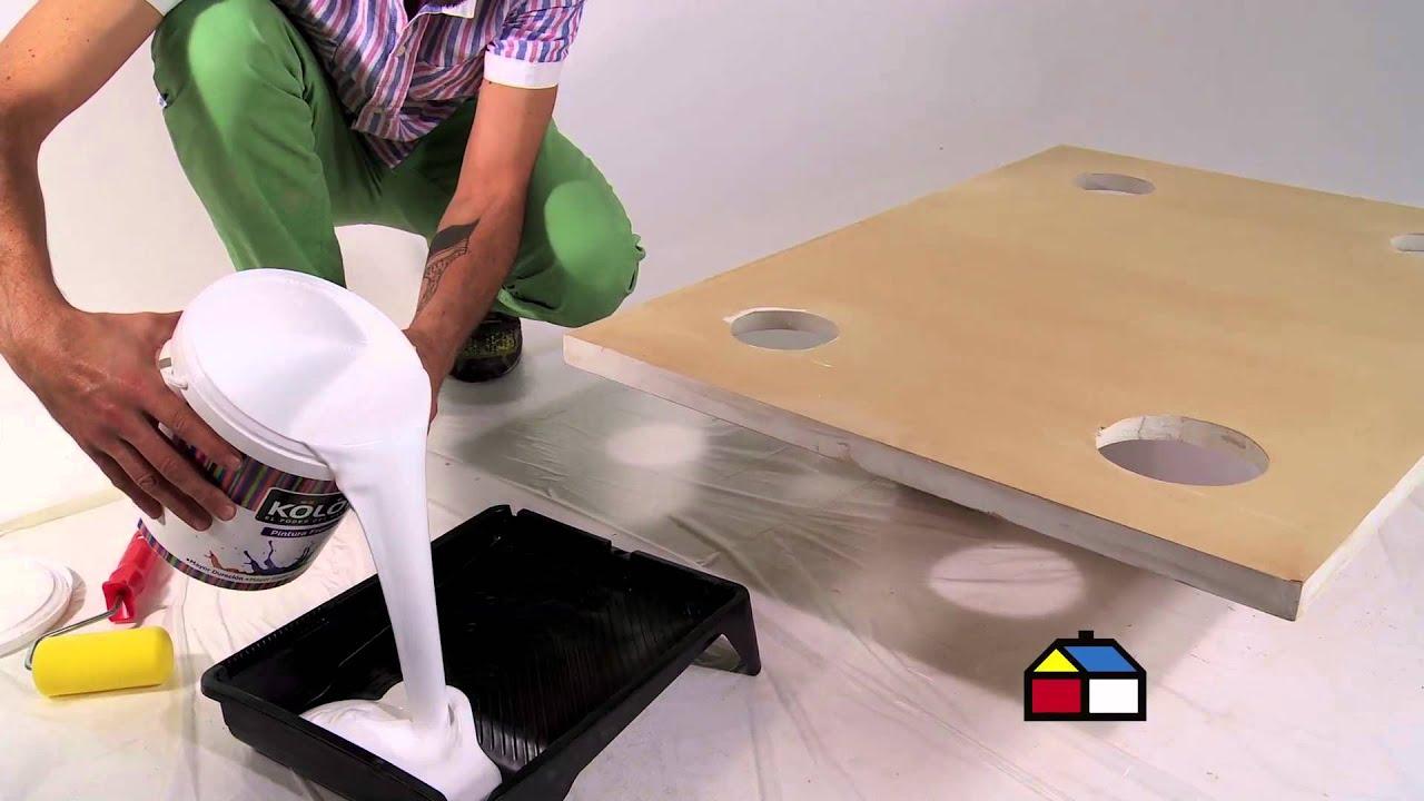 Cmo hacer una mesa cancha de ftbol  YouTube