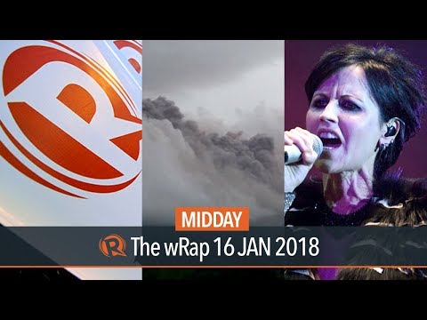 SEC on Rappler, Mayon Volcano, Dolores of The Cranberries | Midday wRap