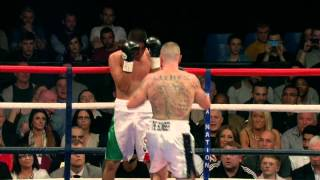 Adam Etches v Felipe De la Paz Teniente Hatton TV Fight Night 26th April 2014 Ponds Forge Arena
