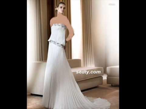 068c3989a أزياء عروس - YouTube