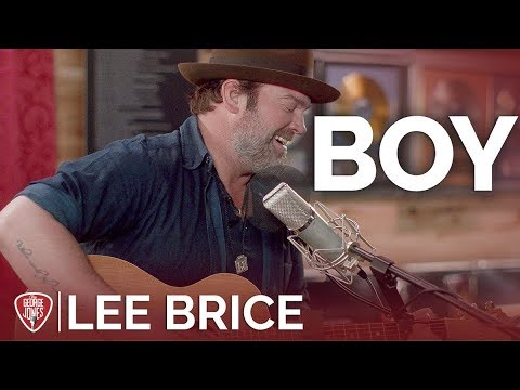Lee Brice - Boy (Acoustic) // The George Jones Sessions