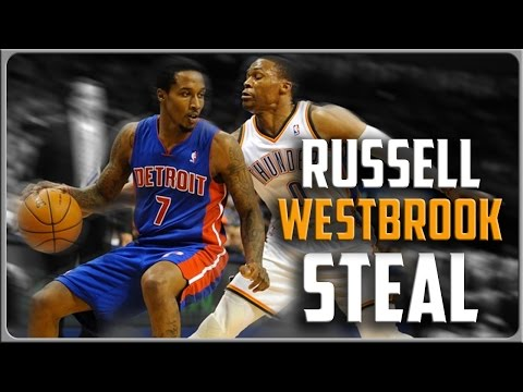 Russell Westbrook Steal Technique: Basketball Moves