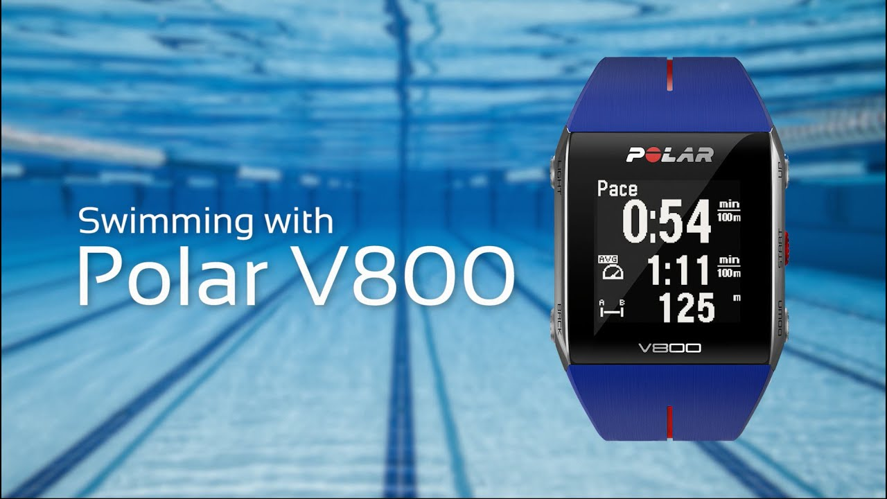 Swimming with the Polar V800