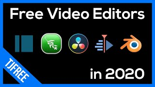 Best Free Video Editing Software in 2020