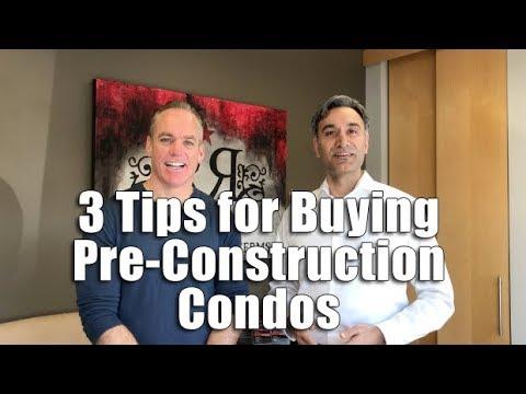 3 Tips for Buying Pre Construction Toronto Condos