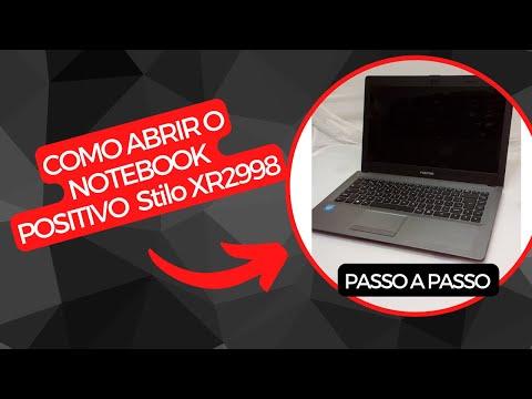 Como abrir o Notebook Positivo Stilo XR2998