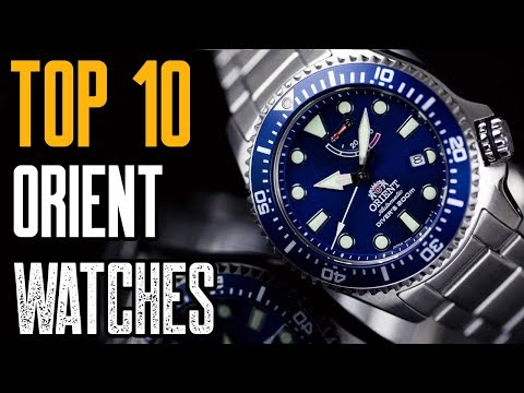 Top 10 Best Orient Watches For MEN To Buy In 2019