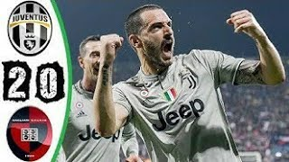 ملخص مباراة يوفنتوس وكالياري الدوري الإيطالي (بث مباشر)