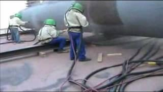 пескоструйная обработка нашими соплами Карбид Бора Venturi .wmv(, 2010-04-17T16:26:03.000Z)