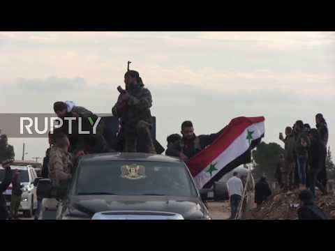Syria: Turkish shelling ensues as pro-Syrian govt. fighters enter Afrin