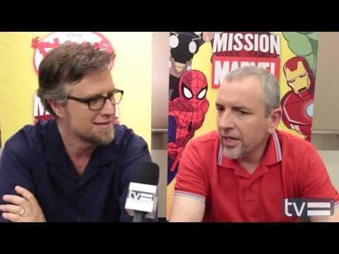 Phineas & Ferb Mission Marvel: Dan Povenmire & Jeff