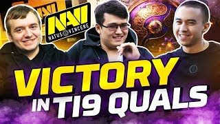Long-awaited Vlog: NAVI's Victory in TI9 Quals