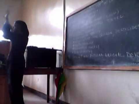 Afrikan Development Studies 2012 - 12 - 11 LECTURE 7