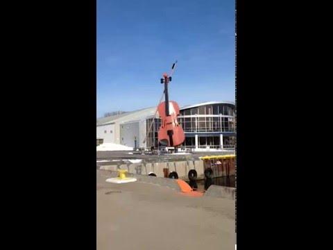 Sydney's Government Wharf in Cape Breton