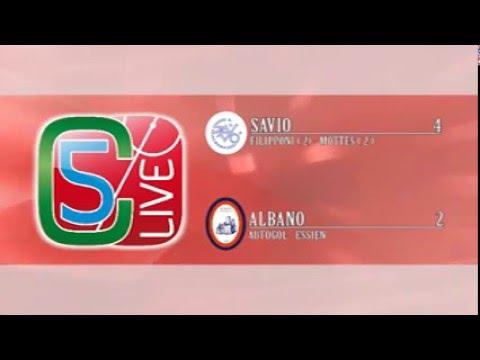 Under 18: Savio - Albano 4 a 2