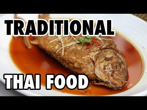 0 Traditional Thai Food at The Local Restaurant in Bangkok