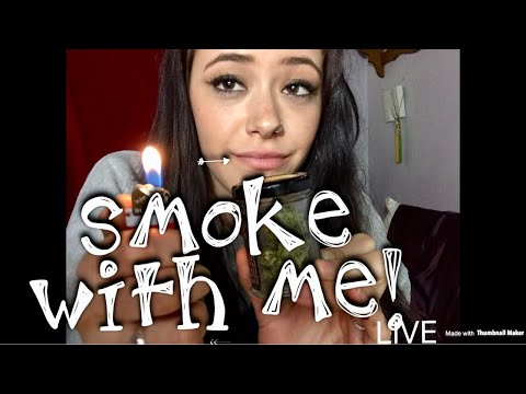 LETS SMOKE/CHAT TOGETHER! / NIGHT TIME SMOKE SESH WITH ME! LIVE