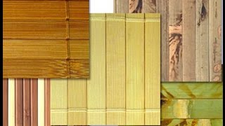 видео Интерьер кухни: обои бамбуковые в оформлении современного стиля