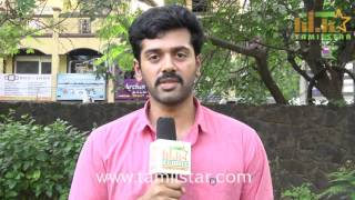 Ashwin Kakumanu At Zero Movie Team Interview