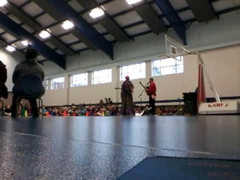 Macon Georgia Russian Balalaika dance music Duo School Assembly