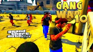 GTA 5 THUG LIFE #10 - GANG WAR BLOOD VS CRIPS