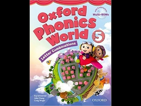 Oxford Phonics World 5 CD1 English for kids