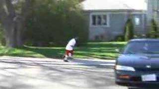 ME JUMPING OVER A CAR!!!! Video